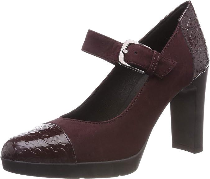 TALLA 38 EU. Geox D Annya High B, Zapatos de Tacón para Mujer