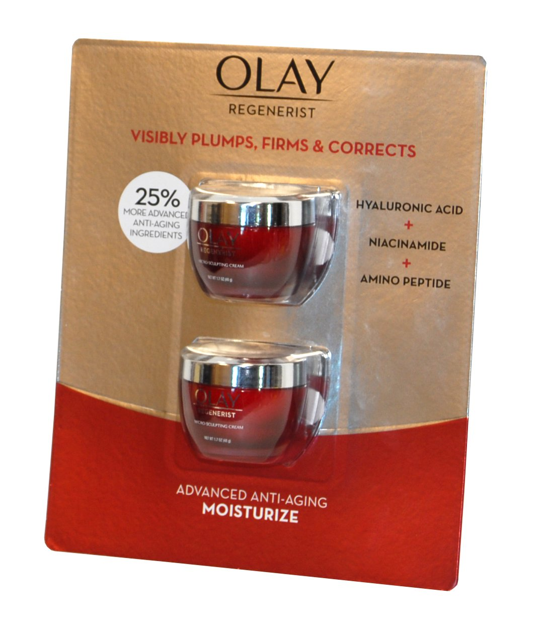 Olay Regenerist Advanced Anti-Aging Moisturizer (2 Count) by Olay