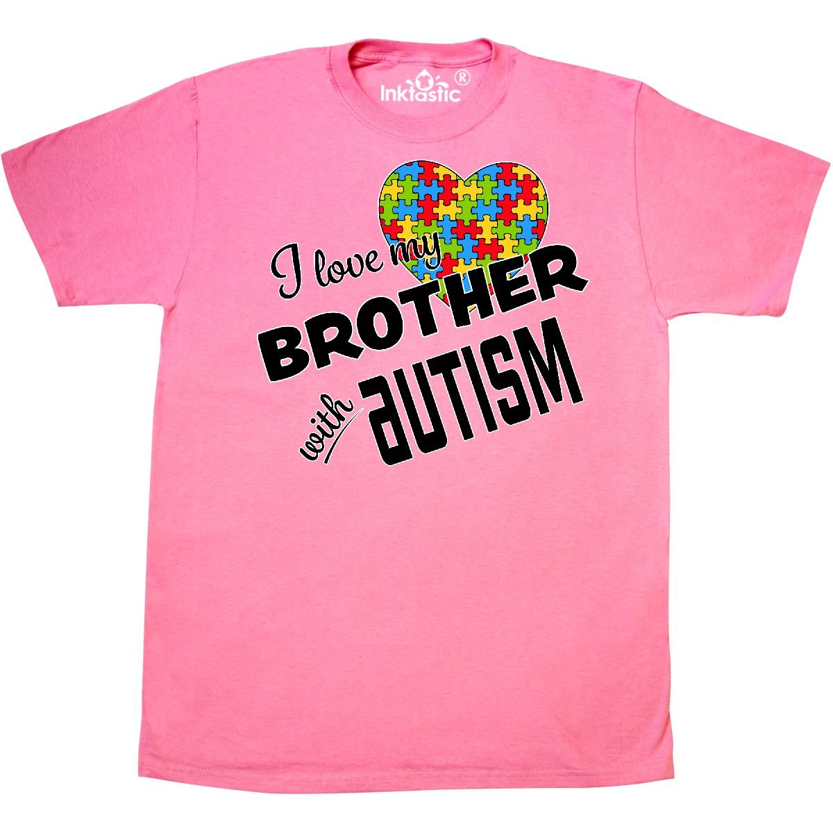 inktastic I Love My Brother with Autism Toddler T-Shirt