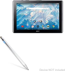 Acer Iconia Tab 10 A3-A40 Stylus Pen, BoxWave [AccuPoint Active Stylus] Electronic Stylus with Ultra Fine Tip for Acer Iconia Tab 10 A3-A40 - Metallic Silver
