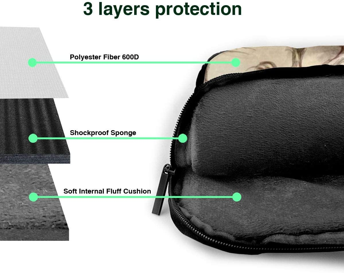 War Knight Personalized Customized Durable Laptop Bag,Cushioning Professional Travel Bag and Laptop Bag Notebook Computer Bag 13in//14in//15.6in