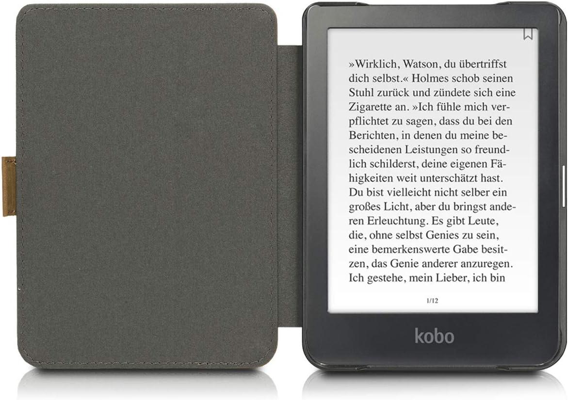 Kalibri Kobo Clara Hd Hülle Leder Ebook Ereader Elektronik