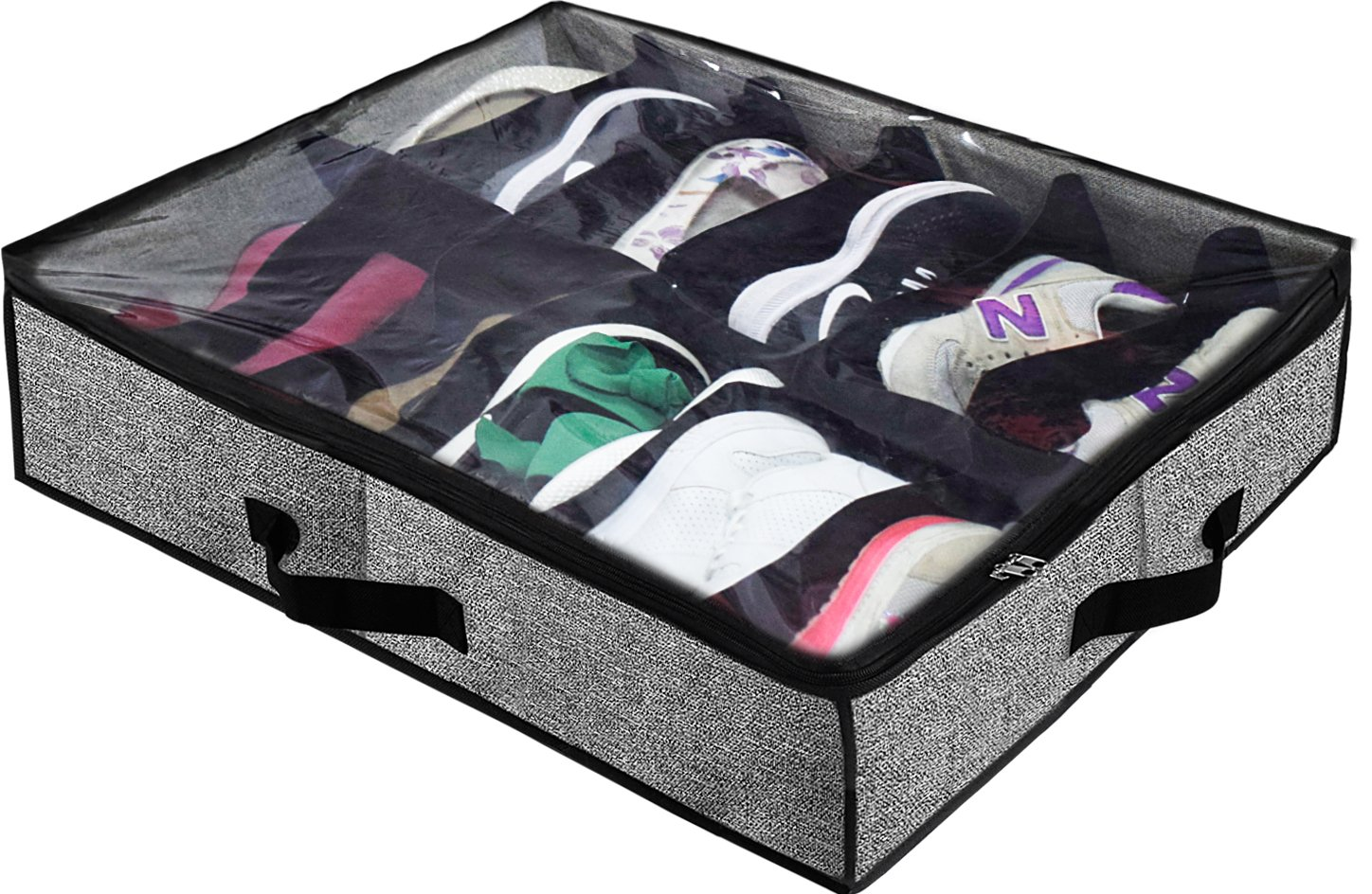 Homyfort Under Bed Shoe Storage Organizer for