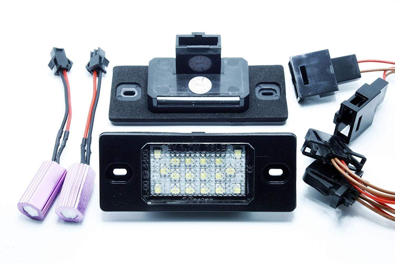 2 x LED Number Plate Lights A U D I TT TTS ROADSTER 8J CANBUS VINSTAR