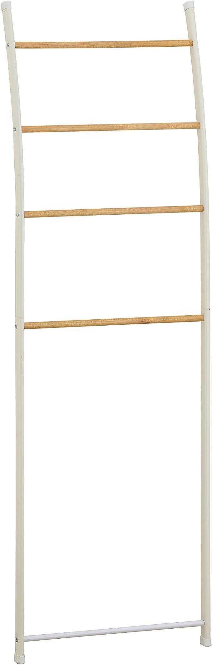 Tomasucci Rino Escalera Decorativa/toallero, Metal, Blanco, 150 x 44 x 10 cm: Amazon.es: Hogar