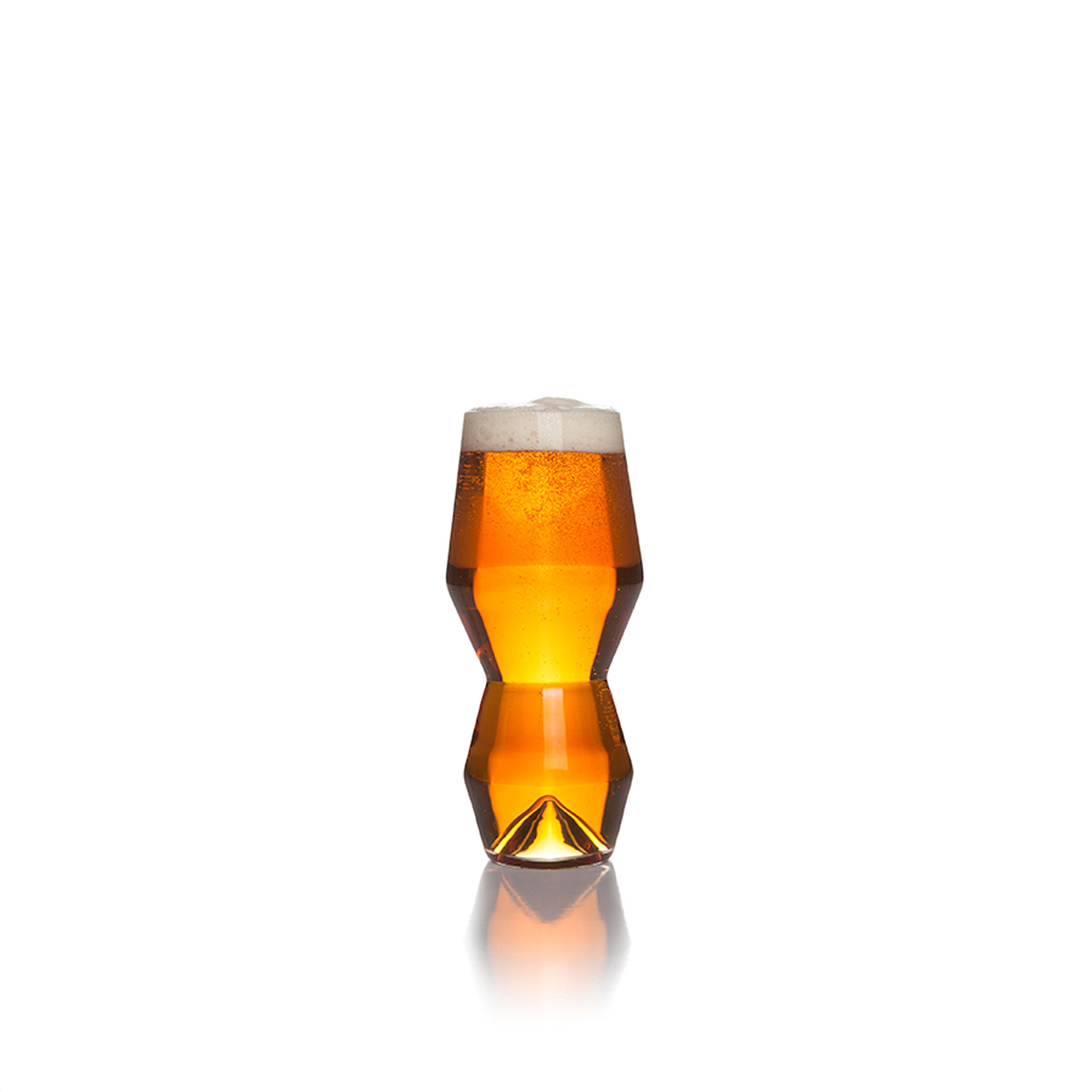 Sempli Monti-IPA Clear Beer Glasses, Set of 2 in Gift Box