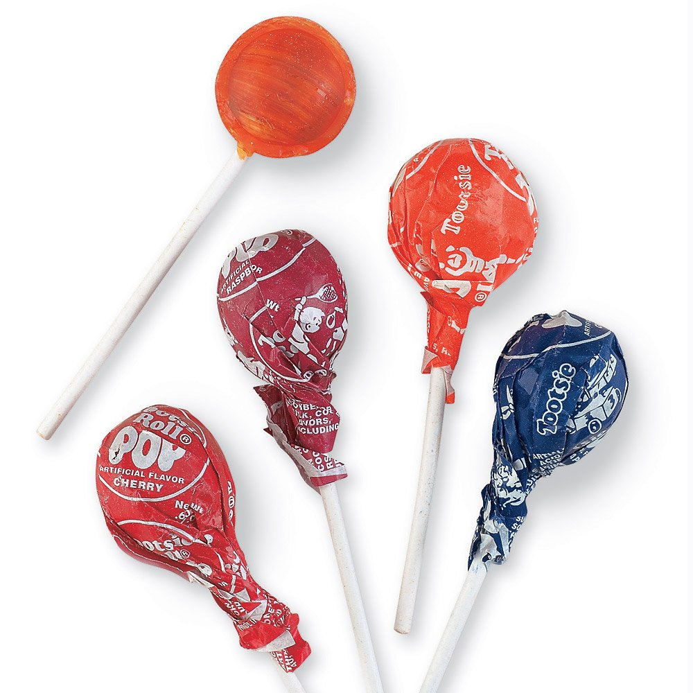 Tootsie Roll Pops - 100 Lollipops