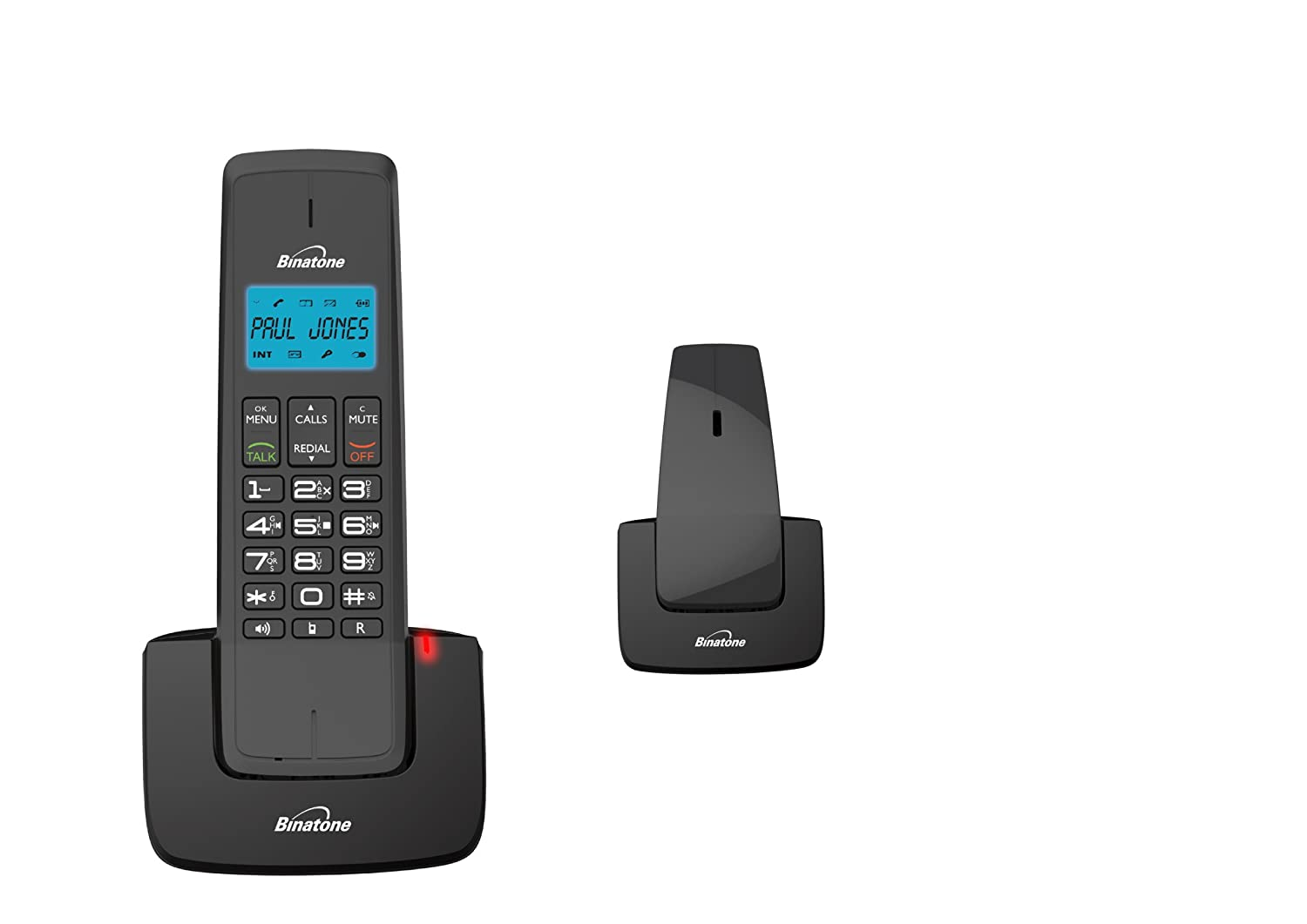 Good Binatone Designer 2115 Twin DECT Telephone With Answer: Amazon.co.uk:  Electronics