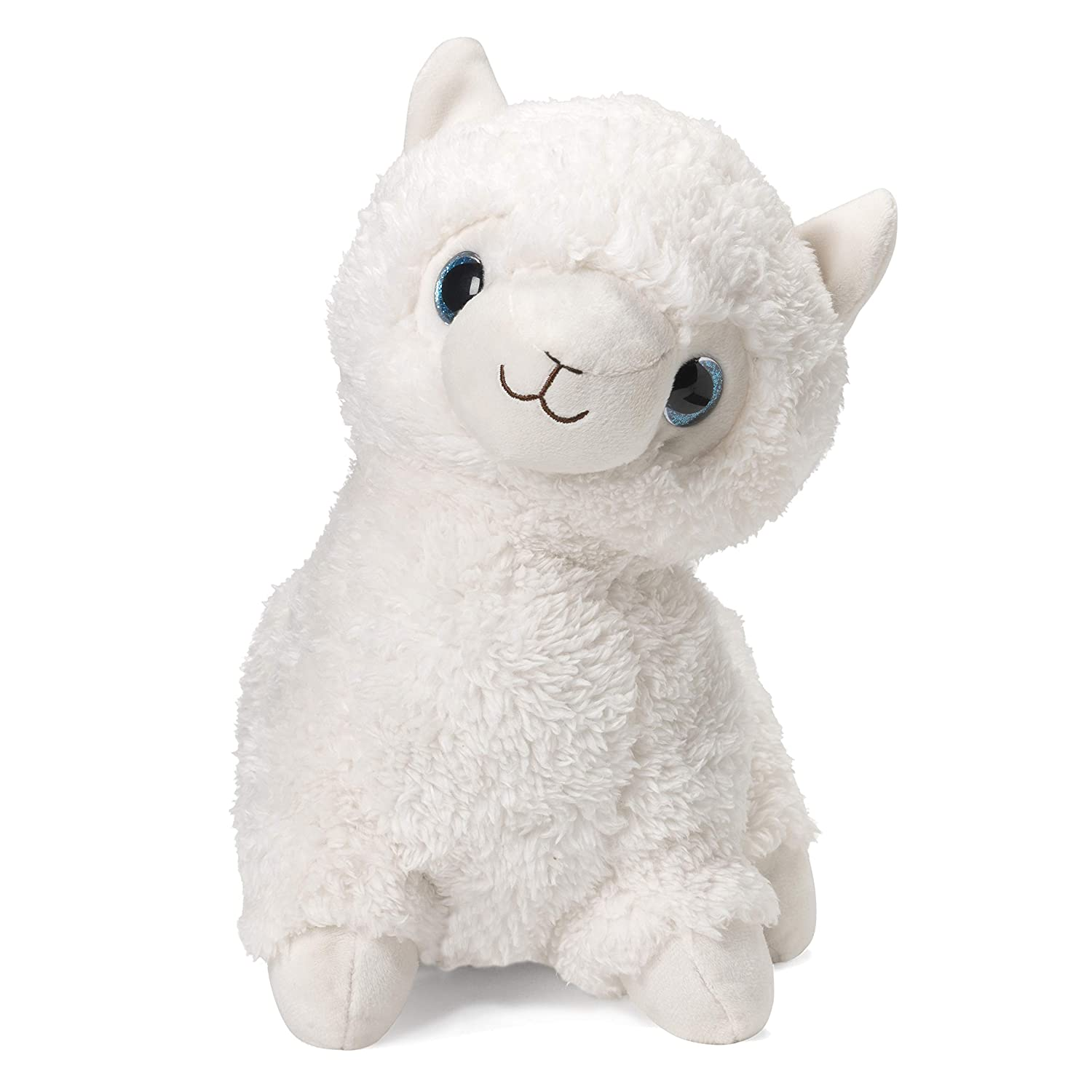 "Intelex Warmies Microwavable French Lavender Scented Plush, Llama Warmies, White, 14"" X 8"" X 4"""