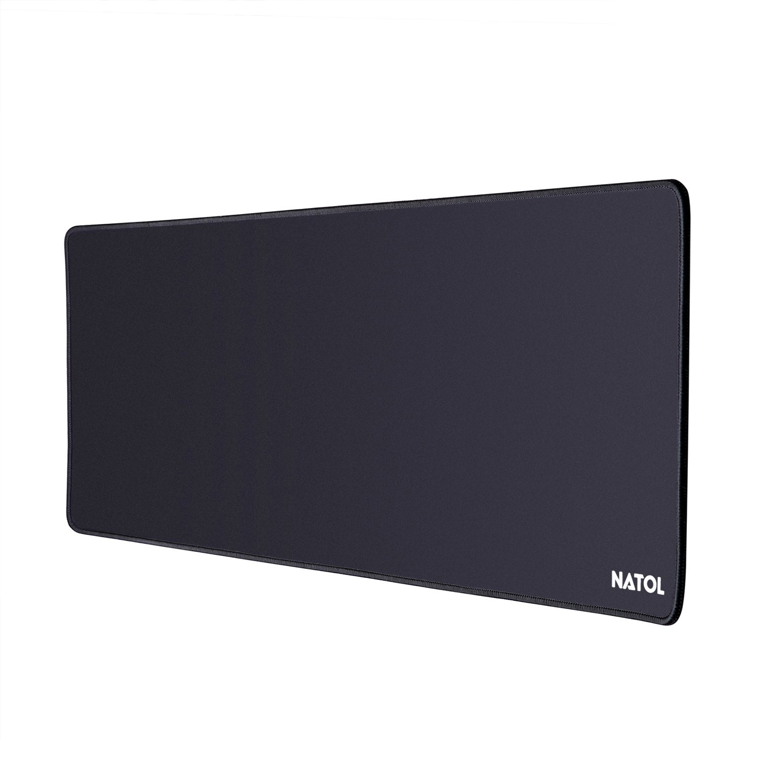 NATOL Gaming Mouse Pad, 800 x 300 mm Grande Tappetino Mouse Gaming, con Superficie Liscia, Antiscivolo, Resistente All\'acqua e con Base in Gomma
