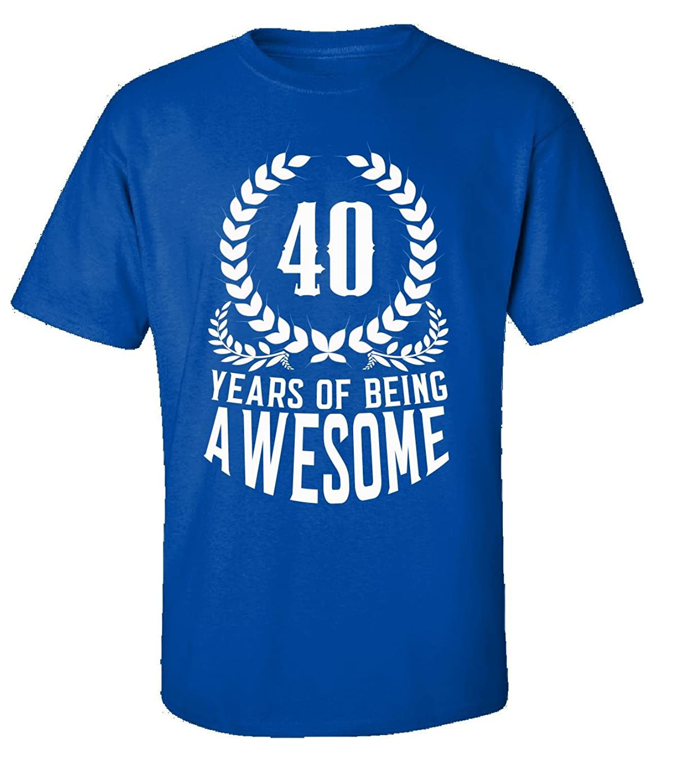 40th Birthday Gift For Men Woman 40 Years Of Being Awesome - Adult Shirt