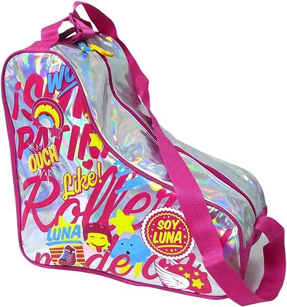 Soy Luna Soy Luna-206034 Funda para Patines, Color Plateado (Toy Bags 013): Amazon.es: Juguetes y juegos