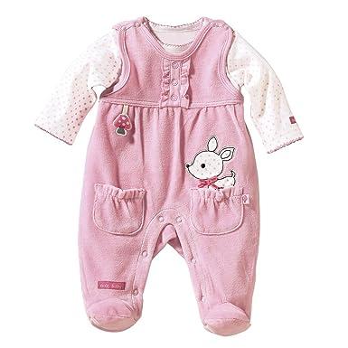 Bornino Grenouillère en velours ras avec T-shirt bébé ensemble bébé  Bornino   Amazon.fr  Vêtements et accessoires 7d82a6250bf