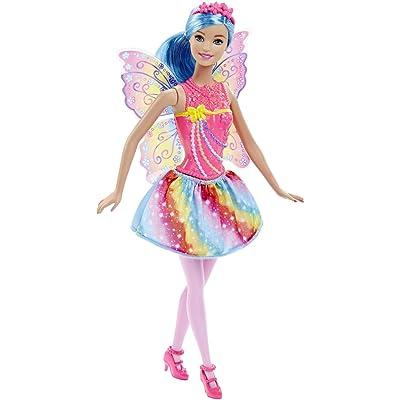 Barbie Fairy Doll, Rainbow Fashion: Toys & Games