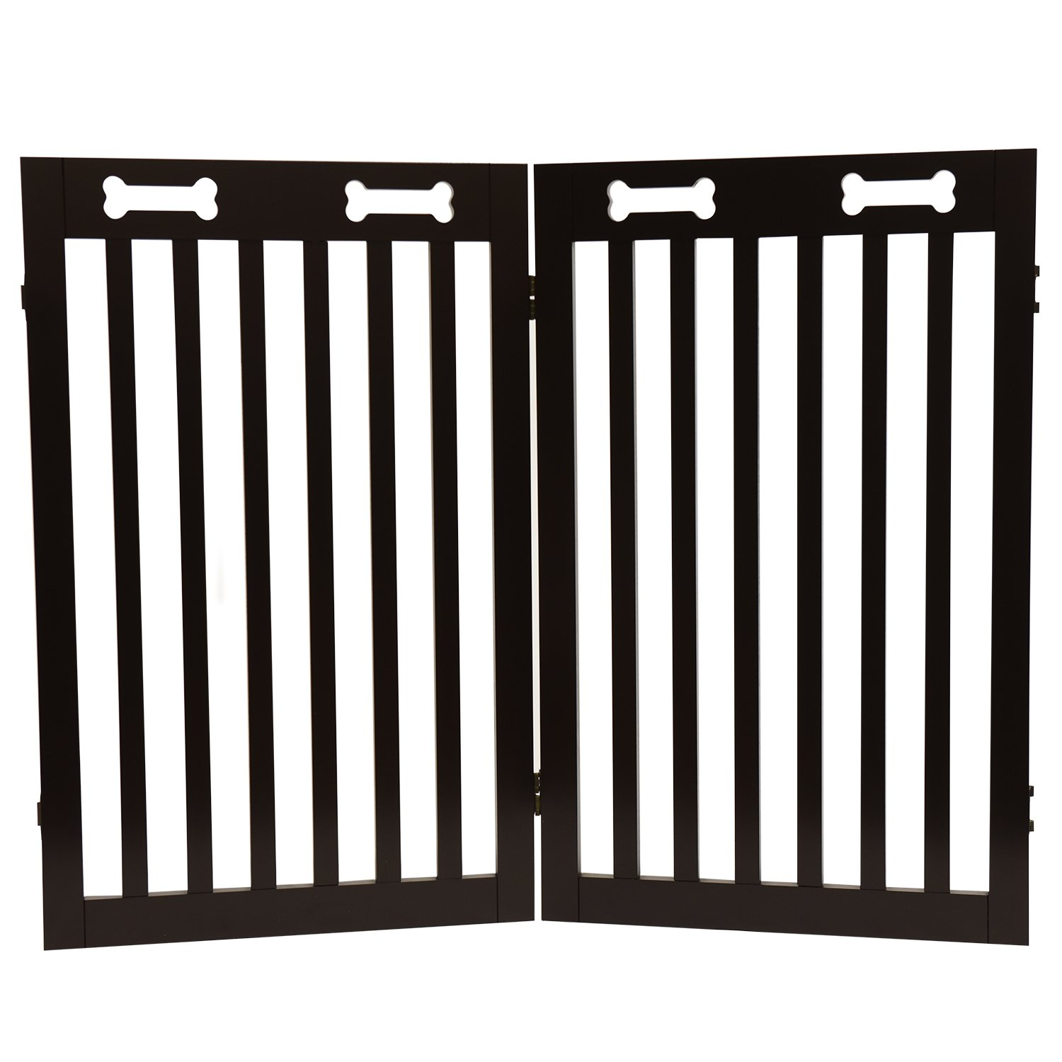 Arf Pets Extension gate Kit, Set of 2 panels - Extension for the Free Standing Wood Dog Gate