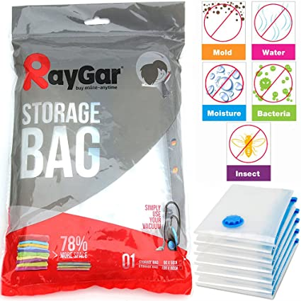 Amazon.com: RayGar® 6 aspiradora comprimido ahorro de ...