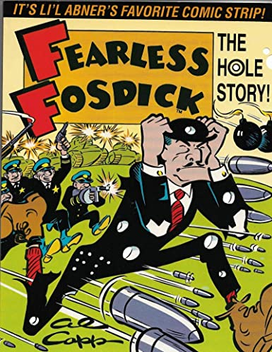 Amazon Com Fearless Fosdick The Hole Story Kitchen Sink Press