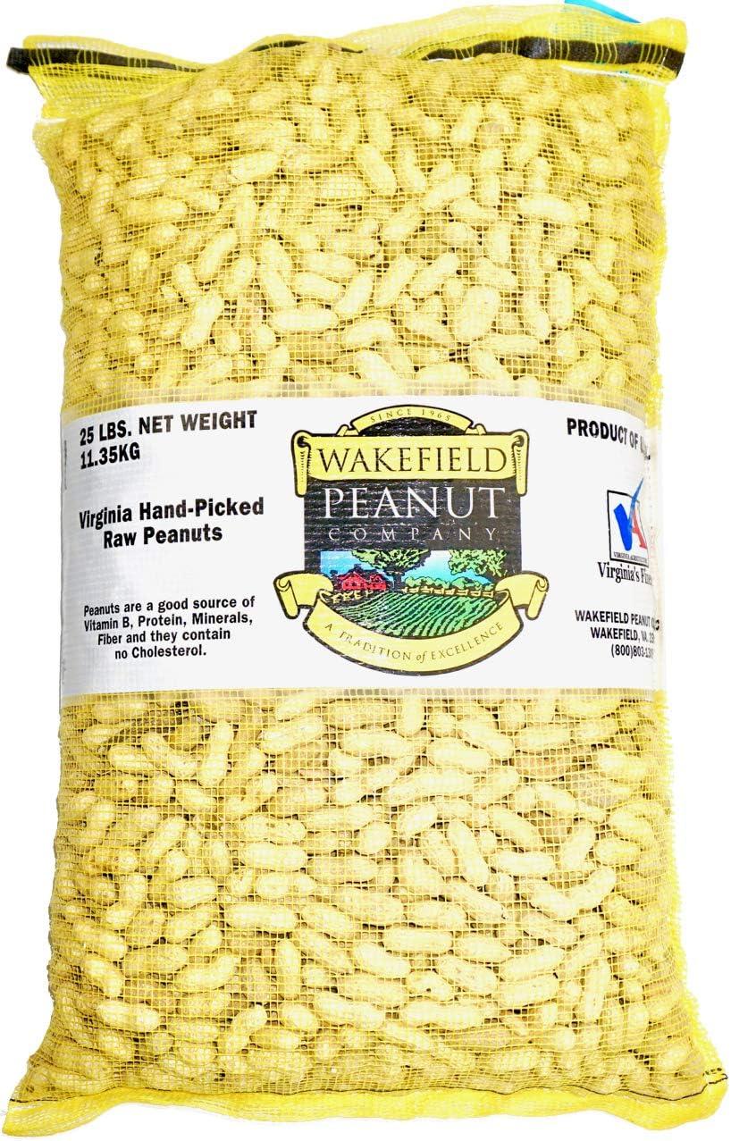 Wakefield Virginia Peanuts for Animals, 25 LBS