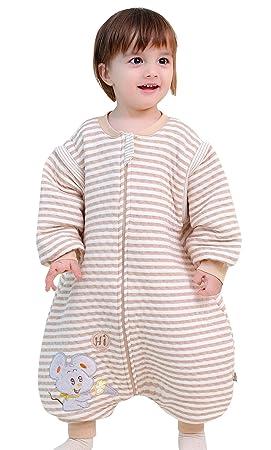 d49e3dd50beaa Happy Cherry Sac de Couchage Bébé Enfant Garcon Fille Couverture en Coton  Printemps Automne Hiver Grenouillère