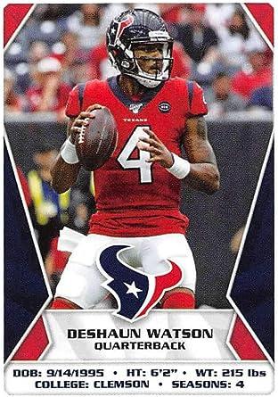 Amazon.com: 2020 Panini NFL Stickers #169 Deshaun Watson Houston ...