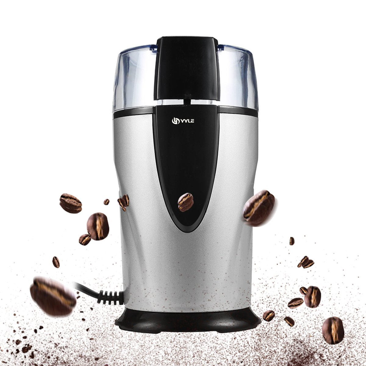 YYLE High Quality Electric Coffee Grinder 220-240V Bean Grinding Miller Moedor De Cafe Coffee Grinding Machine for Grain Seasoning