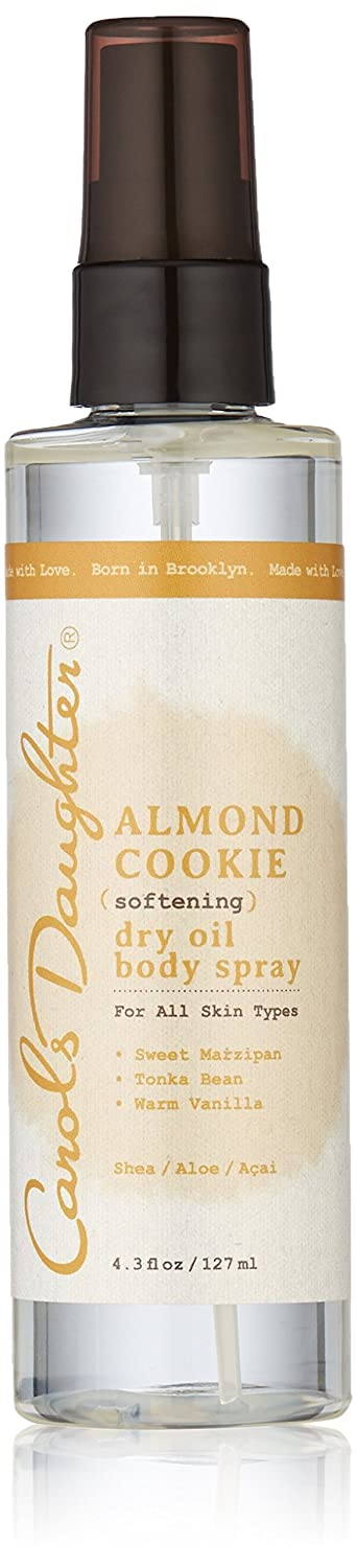 Carols Daughter Almond Cookie Moisturizing Dry Oil Body Spray, 4.3 Ounce Carol's Daughter 183585