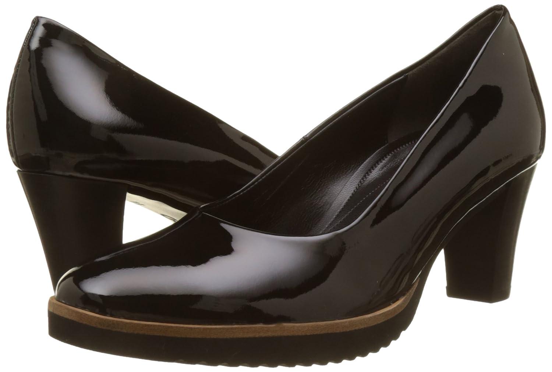 Gabor Damen Pumps Comfort Fashion Pumps Damen Schwarz (Gloss Finish) 1dcb9c