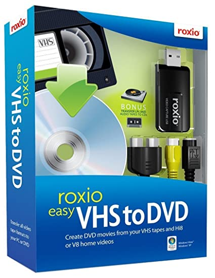 roxio vhs dvd  : Roxio Easy VHS to DVD [Old Version]