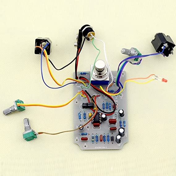 TTONE DIY DS-2 Distortion Electric Guitar Effect Pedal With Full Parts