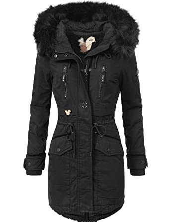 Mantel damen schwarz winter