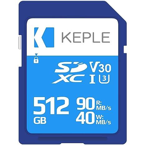 512GB Tarjeta SD Clase 10 Tarjeta de Memoria Alta Velocidad ...