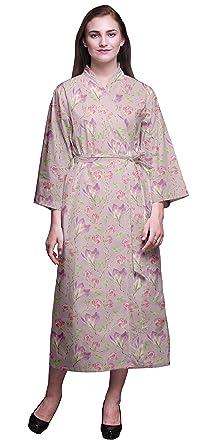 Bimba Albornoz Estampada para niñas Batas de baño Kimono ...