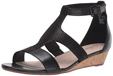 55a4a0358a4e Amazon.com  CLARKS Women s Abigail Lily Wedge Sandal  Shoes