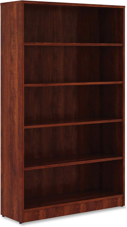 Lorell Bookshelf Bookcase, Cherry