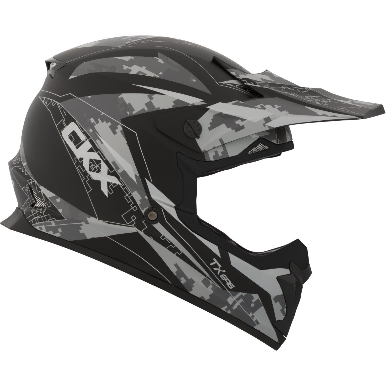 Glitch CKX TX696 Off-Road Helmet Part# 507826#