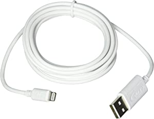 RNDs Apple Certified Lightning to USB Cable (6 Feet/1.8 M/White)