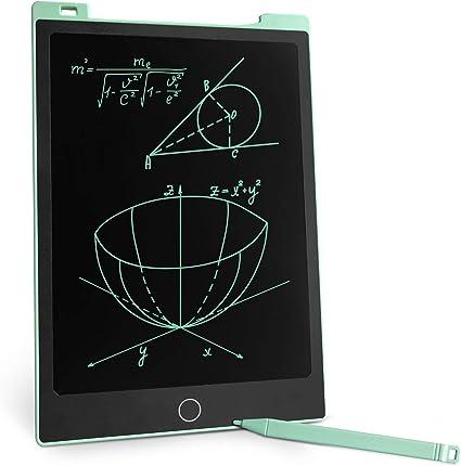 Tavoletta Grafica LCD Scrittura Bmbini 12 Pollici Smart Tablet da Disegno Scrittura Display Colorato Blocco Note Elettronico con penna stilo Regalo