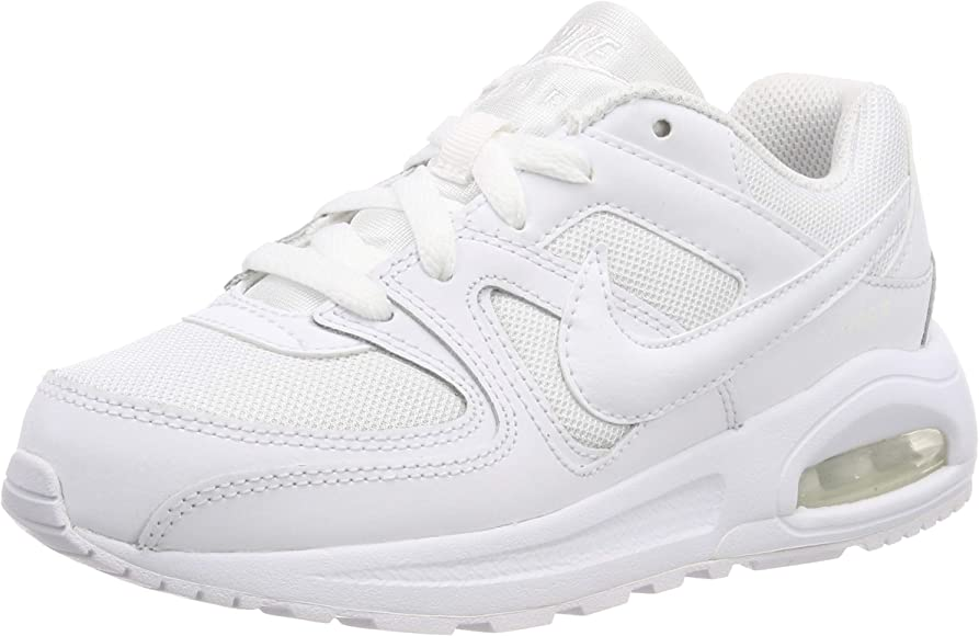 Nike Air MAX Command Flex, Zapatillas de Running para Niños, Blanco (White/White/White 101), 31 1/2 EU: Amazon.es: Zapatos y complementos