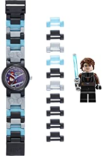 LEGO Quartz Plastic Watch, Color:Grey (Model: 8020288)