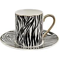 Karaca Zebra 4 Kişilik Kahve Fincan Takımı