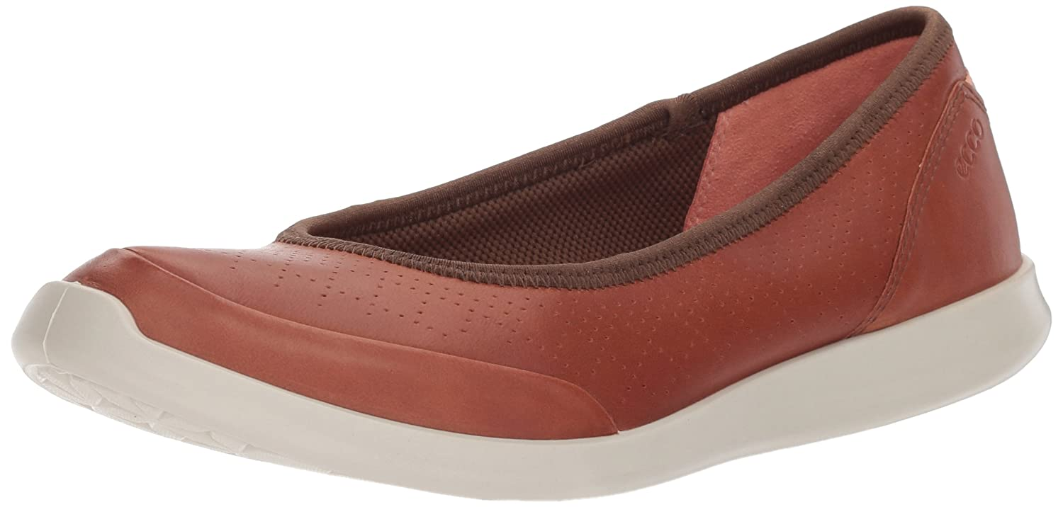 Ecco Womens Sense Closed Toe Slide Flats