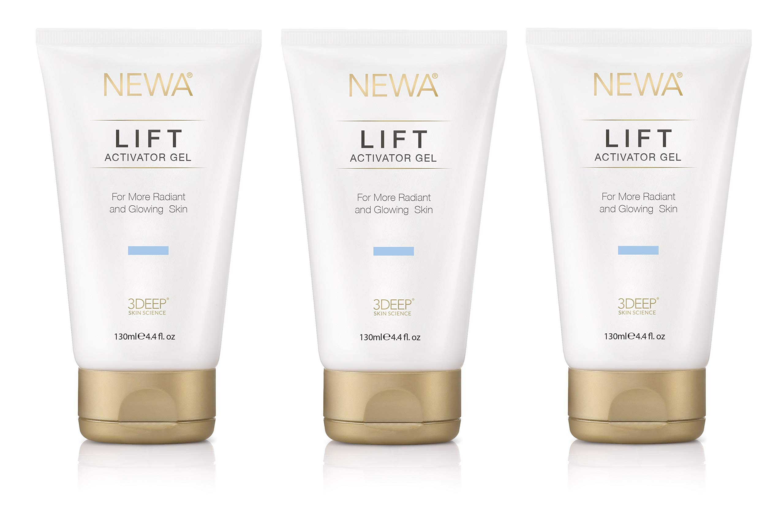 NEWA Specially Formulated Activator Gel [3 Pack] for use with The NEWA Skin Care System by NEWA