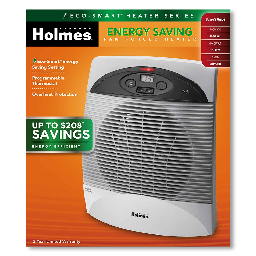 Holmes bathroom heater - Amazon Com Holmes Energy Saving Heater With Thermostat Home Kitchen