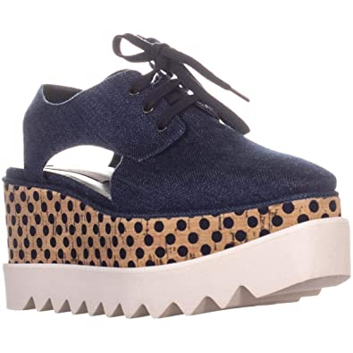 c59abfc49aa Stella McCartney Elyse Cut-Out Women s Flats   Oxfords Navy ...