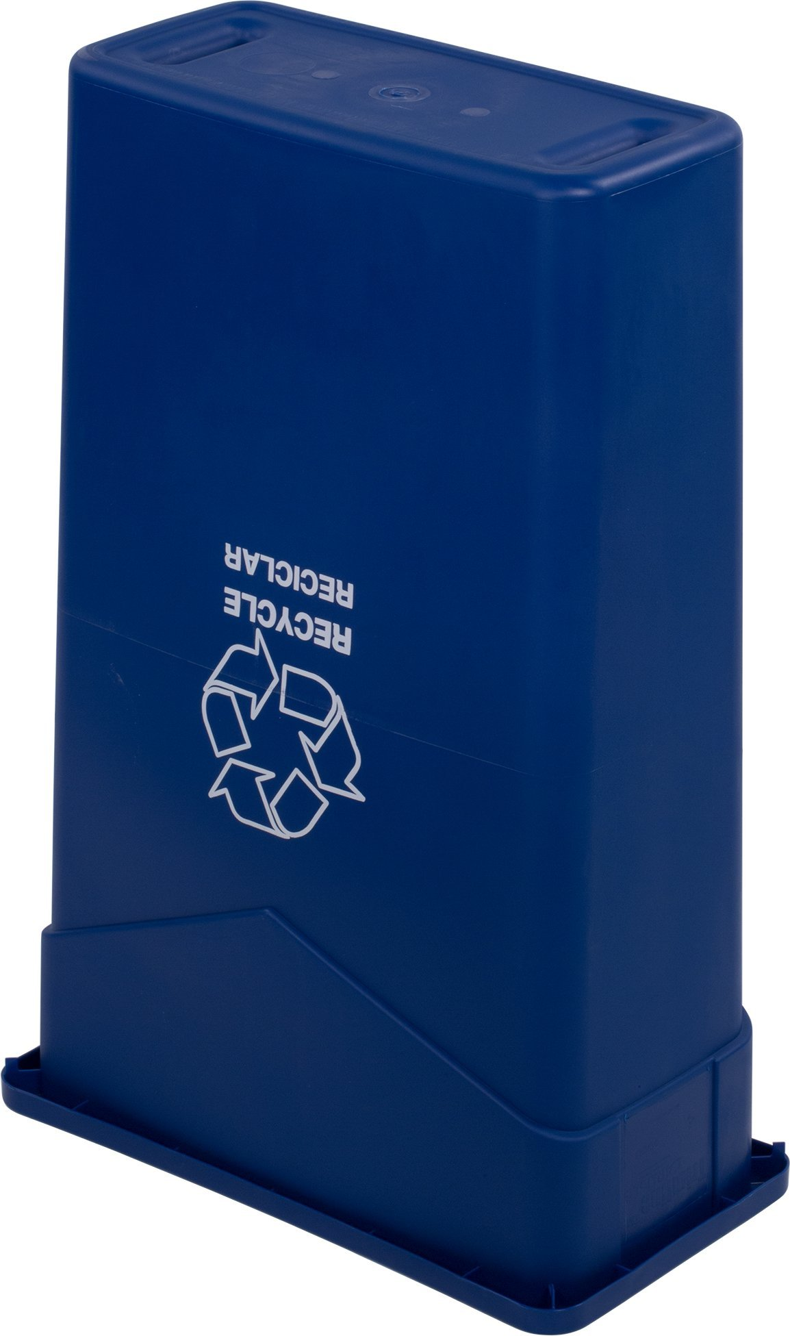 Carlisle 342023REC14 TrimLine LLDPE Recycle Can, 23 Gallon Capacity, 20'' Length x 11'' Width x 29.88'' Height, Blue by Carlisle (Image #4)