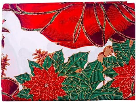 Weihnachten Weihnachtsmann Festival Dekor Weihnachtstischdecke Tischtuch
