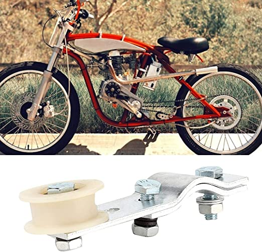 HGY Engine Pulley Chain Roller Tensioner Bracket Fit compatible with 66//80cc Motorized Bicycles