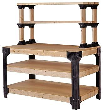 Remarkable Diy Custom Workbench Table Can Spans Up To 8 Feet In Length Short Links Chair Design For Home Short Linksinfo
