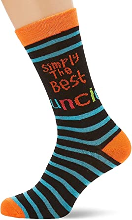Simply The Best Uncle Socks Birthday Father/'s Day Christmas Novelty Gift Present