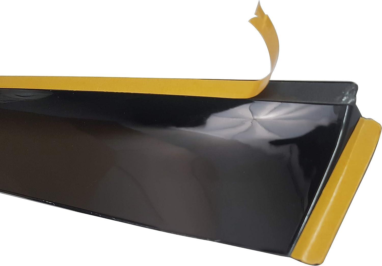 Perflex Set Windabweiser Regenschutz Fenster Seite Windabweiser Für Lkw Xf 106 Deko Zubehör Auto